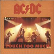 Click here for more info about 'AC/DC - Touch Too Much'