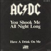 Click here for more info about 'AC/DC - You Shook Me All Night Long'