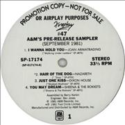 Click here for more info about 'Foreplay #47 - A&M's Pre-Release Sampler September 1981'