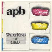 Click here for more info about 'APB - What Kind Of Girl?'