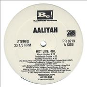 Click here for more info about 'Aaliyah - Hot Like Fire'