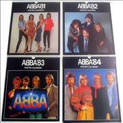 Click here for more info about 'Abba - 1981-1984 Calendars'