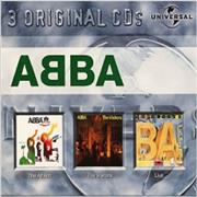 Click here for more info about 'Abba - 3 Original CDs - The Album, The Visitors & ABBA Live'