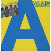 Abba A Wie Abba UK vinyl LP