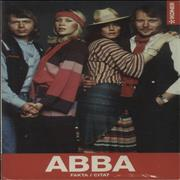 Click here for more info about 'Abba - ABBA Fakta / Citat'
