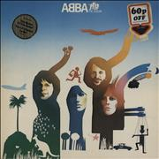 Click here for more info about 'Abba - ABBA The Album - double stickered p/s'