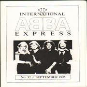 Click here for more info about 'Abba International Express - Issue 32 Sept '95'