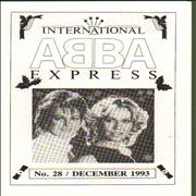 Click here for more info about 'Abba International Express - No. 28 December 1993'