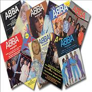 Click here for more info about 'Abba - Abba Magazine - set of 11'