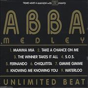 Click here for more info about 'Abba - Abba Medley/Unlimited Beat'
