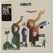 Abba Abba The Album + Hit Singles Sticker - Sealed USA vinyl LP