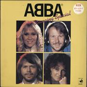 Click here for more info about 'Abba - Dancing Special - Yellow vinyl'