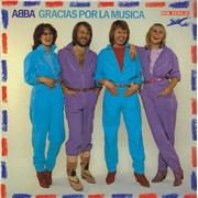 Click here for more info about 'Abba - Gracias Por La Musica - Export - Hype Sticker on Back'