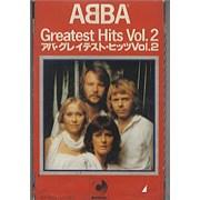 Abba Greatest Hits Vol.2 Japan cassette album