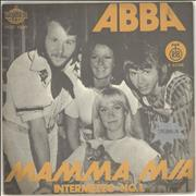 Click here for more info about 'Abba - Mamma Mia - Blue labels'