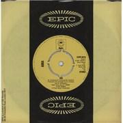 "Abba S.O.S. - 4-Prong - Yellow Label UK 7"" vinyl"