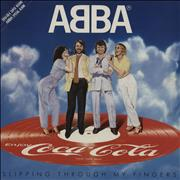 Click here for more info about 'Abba - Slipping Through My Fingers + envelope'