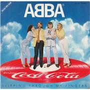 "Abba Slipping Through My Fingers - EX Japan 7"" vinyl Promo"