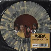 Click here for more info about 'Abba - Summer Night City - RSD 18 - Yellow/Clear Splatter Vinyl'