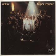 Click here for more info about 'Abba - Super Trouper - Pan-Vox label'