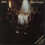 Click here for more info about 'Abba - Super Trouper - Saab Sleeve + Merch sheet'