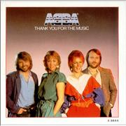 "Abba Thank You For The Music - Poster Sleeve UK 7"" vinyl"