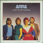 Click here for more info about 'Abba - Thank You For The Music - Poster Sleeve - EX'