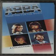 Abba Thank You For The Music: A Collection Of Love Songs UK cassette album