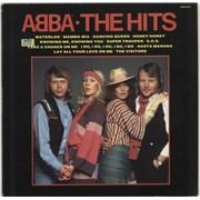 Abba The Hits UK vinyl LP
