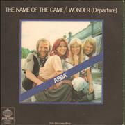 Click here for more info about 'The Name Of The Game - Jukebox label'