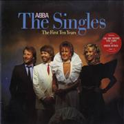 Click here for more info about 'Abba - The Singles - The First Ten Years + Sticker - EX'