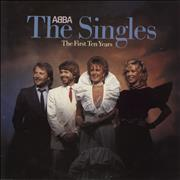 Click here for more info about 'Abba - The Singles - The First Ten Years - Promo Stamped P/s'