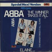 Click here for more info about 'Abba - The Winner Takes It All'