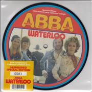 Click here for more info about 'Waterloo - Special Edition 30th Anniversary Collector's Single'