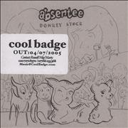 Absentee Donkey Stock EP UK CD single Promo