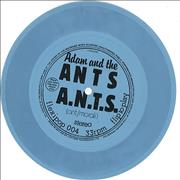 Click here for more info about 'Adam & The Ants - A.N.T.S. - Blue Flexi'