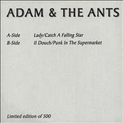Click here for more info about 'Adam & The Ants - Adam & The Ants EP'