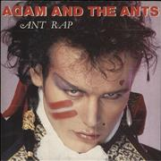 Click here for more info about 'Adam & The Ants - Ant Rap - A Label - Advent sleeve'