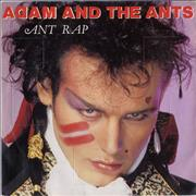 Click here for more info about 'Adam & The Ants - Ant Rap - Advent Sleeve'
