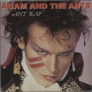 Click here for more info about 'Adam & The Ants - Ant Rap - Solid centre'