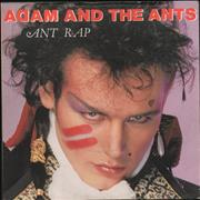 Click here for more info about 'Adam & The Ants - Ant Rap - Inj'
