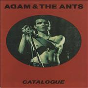 Click here for more info about 'Adam & The Ants - Catalogue'