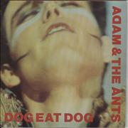 Click here for more info about 'Adam & The Ants - Dog Eat Dog - Solid + P/s'