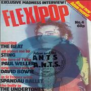 Click here for more info about 'Flexipop Magazne No. 4 + blue flexi'
