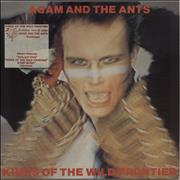 Click here for more info about 'Adam & The Ants - Kings Of The Wild Frontier - Stickered sleeve'