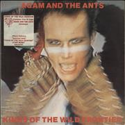 Click here for more info about 'Adam & The Ants - Kings Of The Wild Frontier - Stickered sleeve + Catalogue - EX'