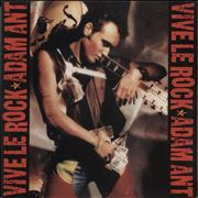 Click here for more info about 'Adam & The Ants - Vive Le Rock - Gold Promo Stamped'