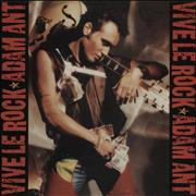 Click here for more info about 'Adam Ant - Vive Le Rock'