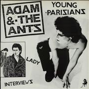 Click here for more info about 'Adam & The Ants - Young Parisians / Lady - White'