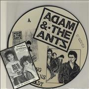Click here for more info about 'Adam & The Ants - Young Parisians / Lady'